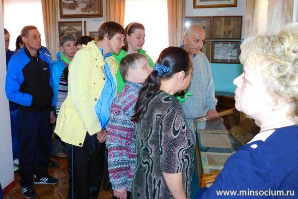 Подопечные Городецкого психоневрологического интерната посетили Чкаловск