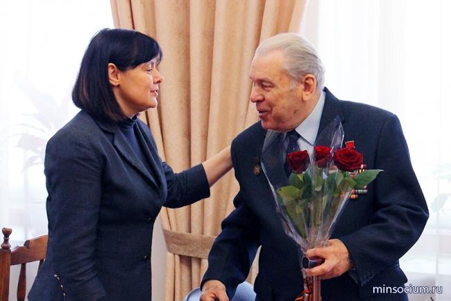 7 декабря Состоялось чествование ветеранов – участников обороны Москвы