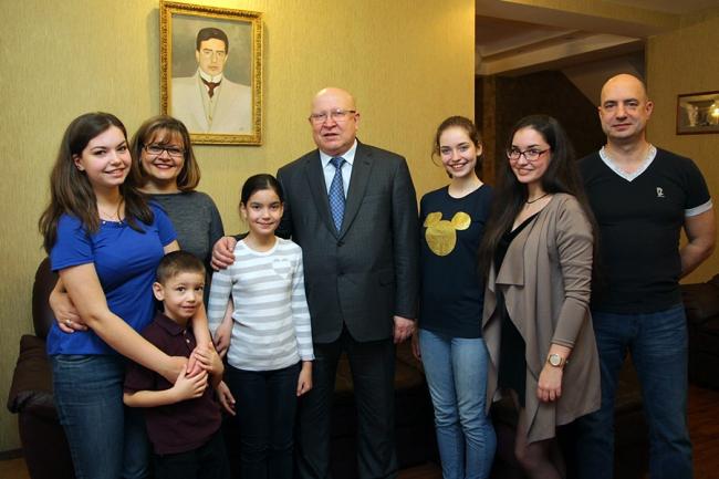 Нижегородская семья Иудиных признана образцом в воспитании детей