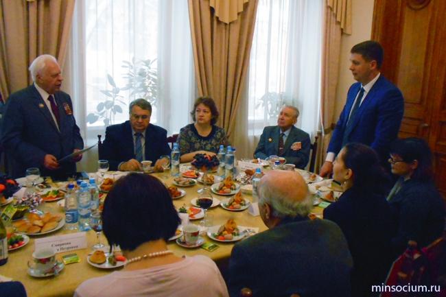 Встреча руководителей министерства с активом региональных общественных организаций