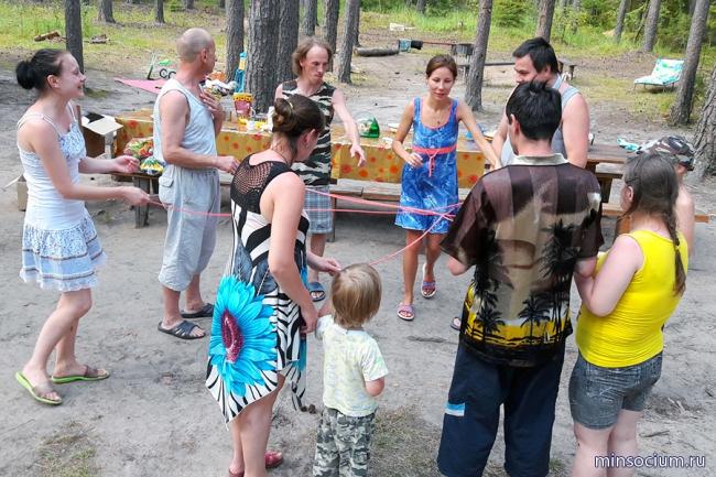 Для подопечных Городецкого психоневрологического интерната организован летний отдых