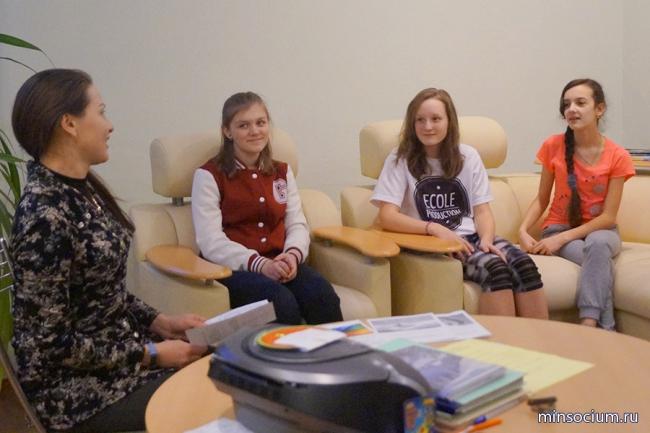 Специалисты соцзащиты Сормовского района посетили Специальный (коррекционный) детский дом № 1