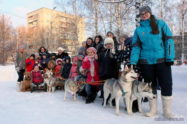 В «Областном центре социальной помощи семье и детям «Журавушка» состоялось спортивно-развлекательное мероприятие