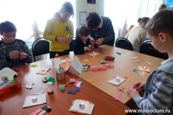 В реабилитационном центре Павловского района состоялся мастер-класс «Город мастеров»