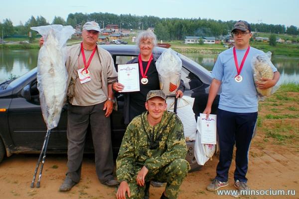 Соцзащита Кстова организовала участие нижегородцев с ограниченным здоровьем в фестивале рыбной ловли