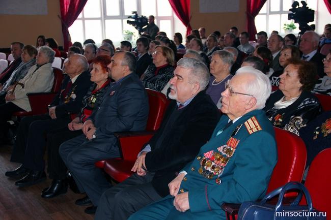 Ветеранам-общественникам в день воинской славы вручены благодарственные письма