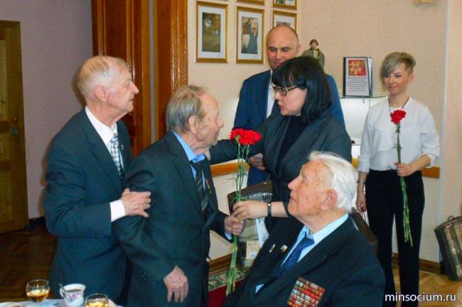 В преддверии 72-ой годовщины Победы в Доме ветеранов состоялось торжественное мероприятие