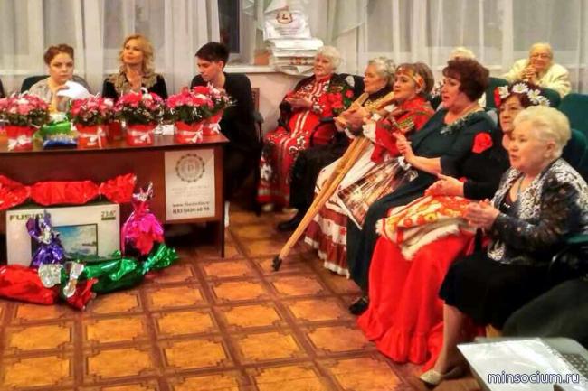 Состоялся региональный конкурс среди подопечных домов престарелых