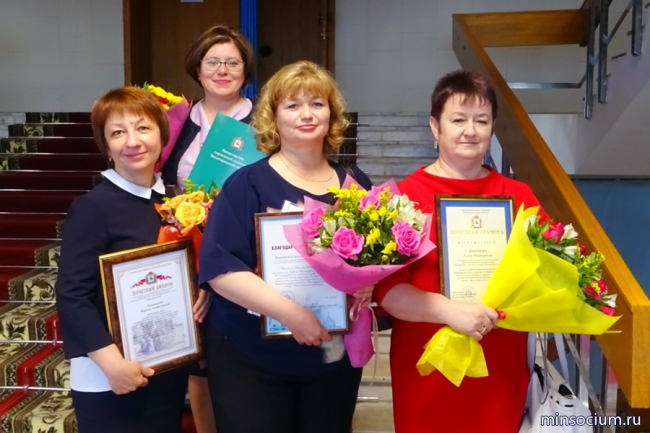 Лучших социальных работников наградили в Нижегородском кремле