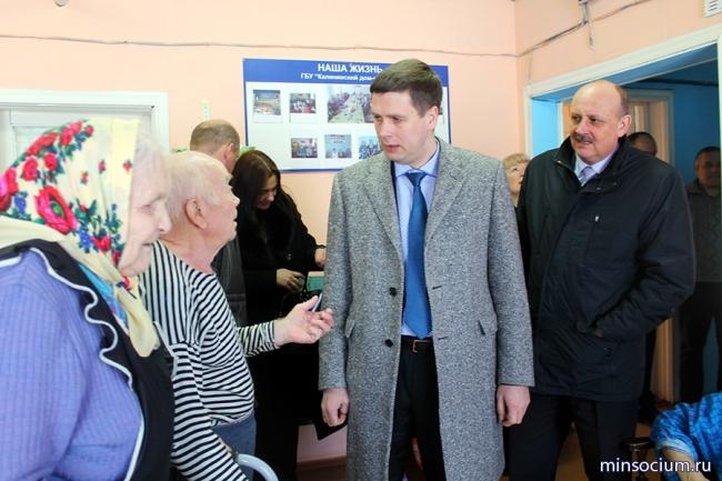 Министр социальной политики Нижегородской области провел встречи в Ветлужском и Уренском районах